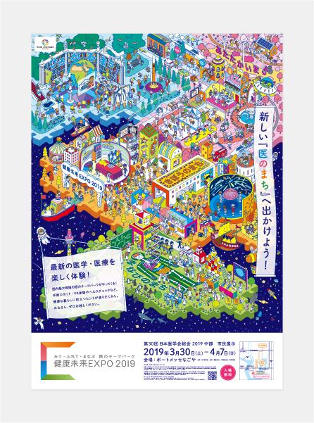 健康未来EXPOのポスター